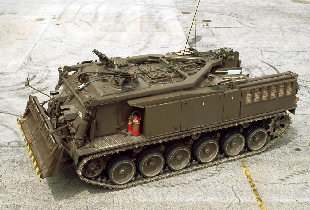 Geschütze und Panzerfahrzeuge im ZDT